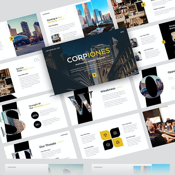 Corpiones Google Slides Template