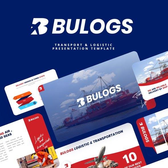BULOGS - Transport & Logistics Powerpoint Template