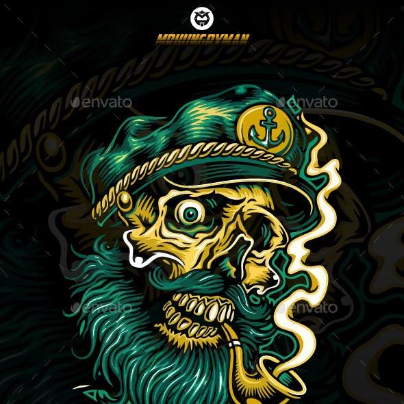 Skull of Captain Pirate