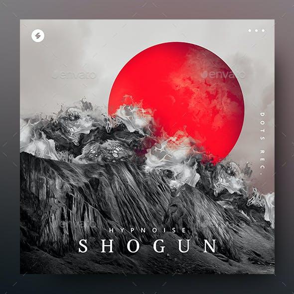 Shogun – Music Album Cover Artwork / Youtube Video Thumbnail Template