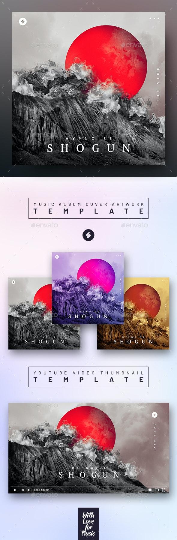 Shogun – Music Album Cover Artwork / Youtube Video Thumbnail Template - Miscellaneous Social Media