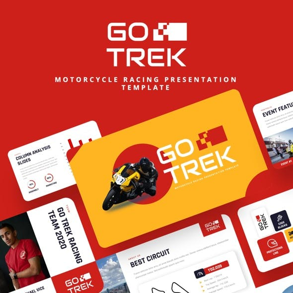 GOTREK - Motorcycle Racing Powerpoint Template