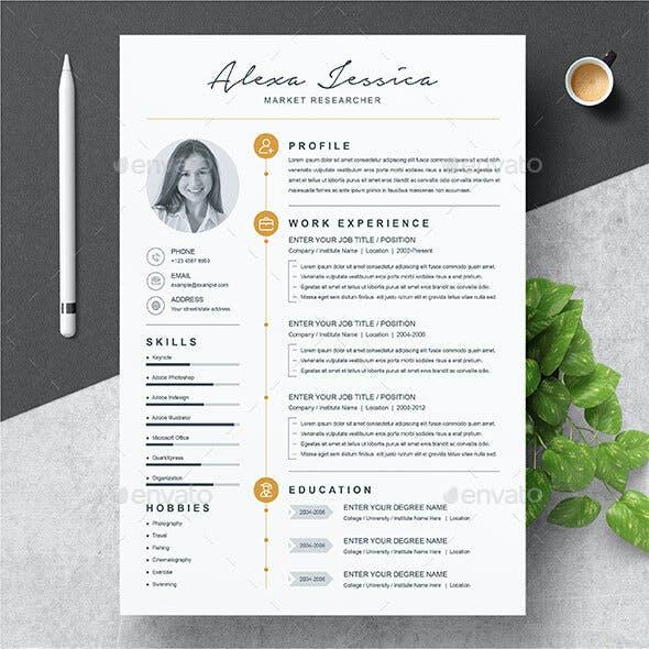 Modern Clean Resume