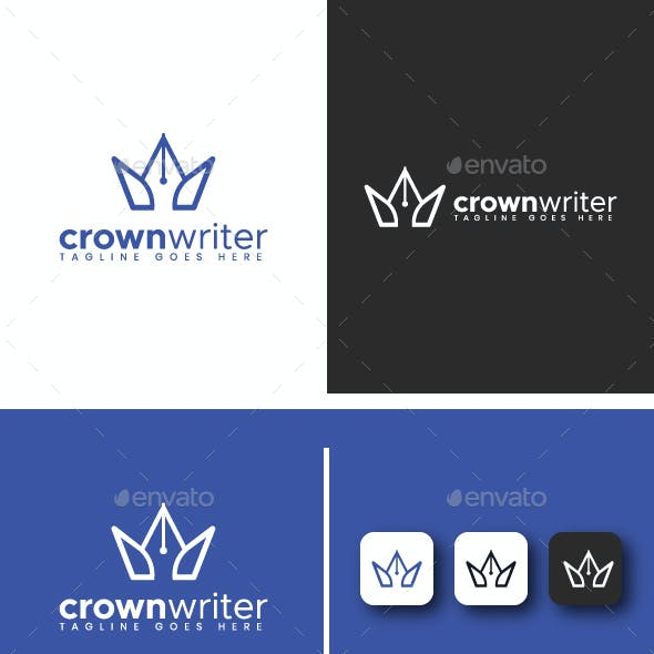 Crown Writer Logo