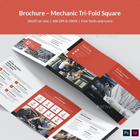 Brochure – Mechanic Tri-Fold Square