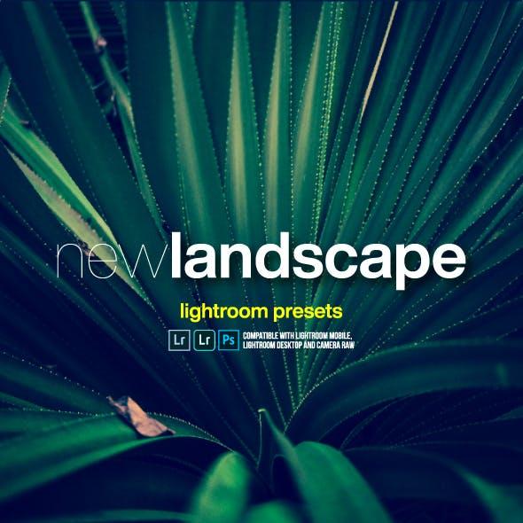 New Landscape Lightroom Presets