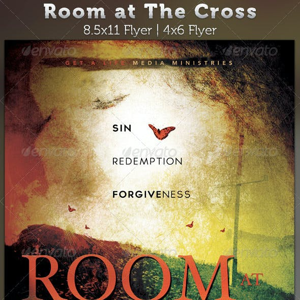 Room at The Cross Church Flyer Template
