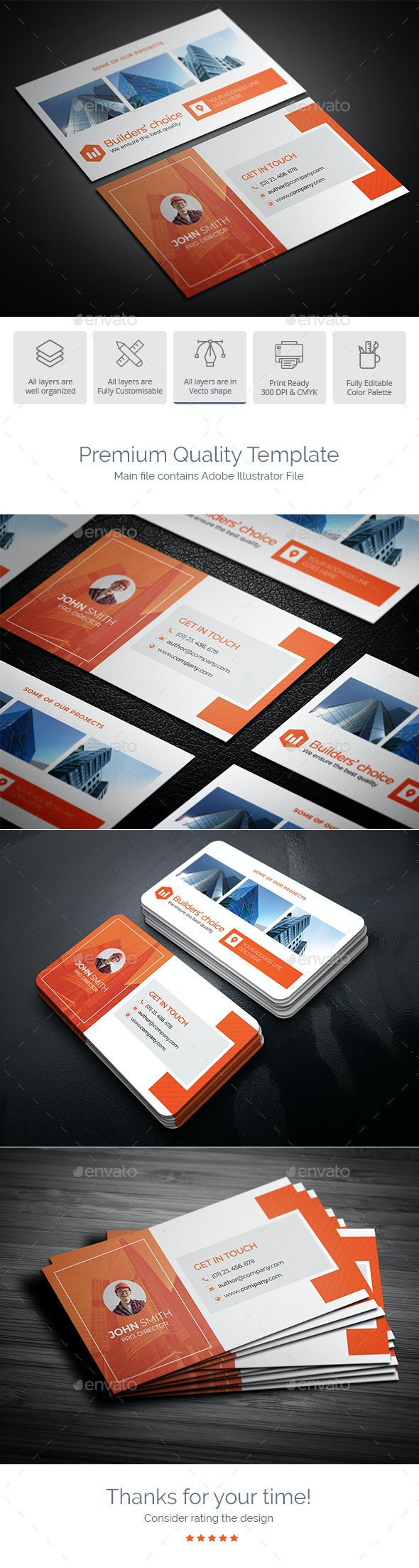 Real Estate Business Card Design - Industry Specific Business Cards