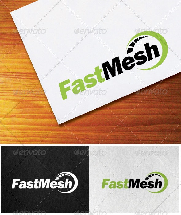 Fastmesh - logo template - Objects Logo Templates