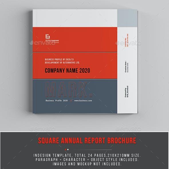 Annual Report Square