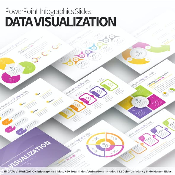 Data Visualization - PowerPoint Infographics Slides