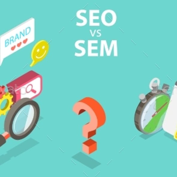 SEO Vs SEM, Difference Between Search Engine