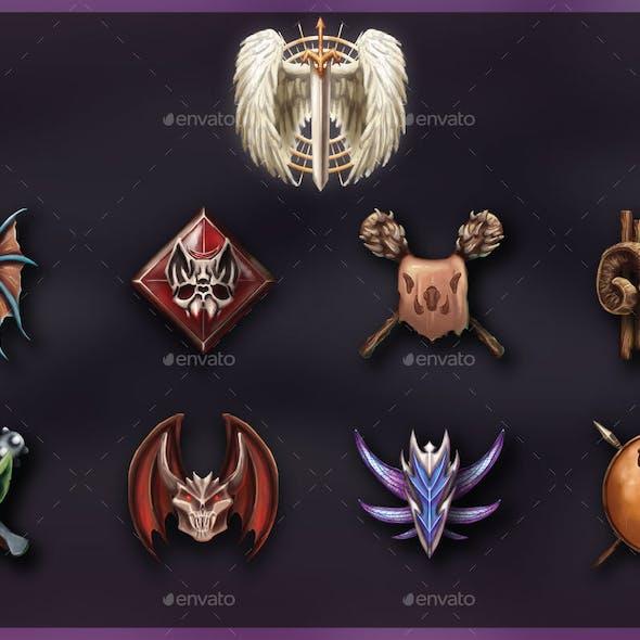 Race Badges/Emblems 2