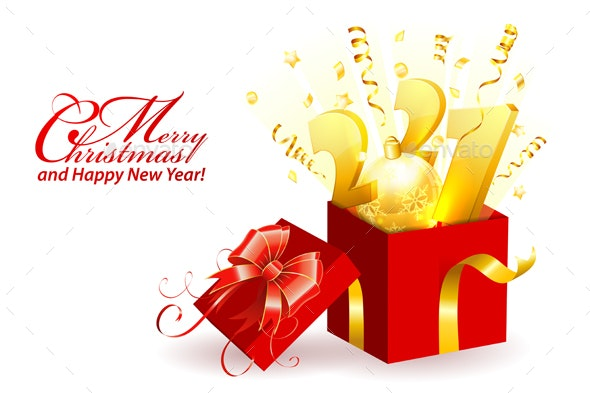 Merry Christmas and New Year Card - New Year Seasons/Holidays