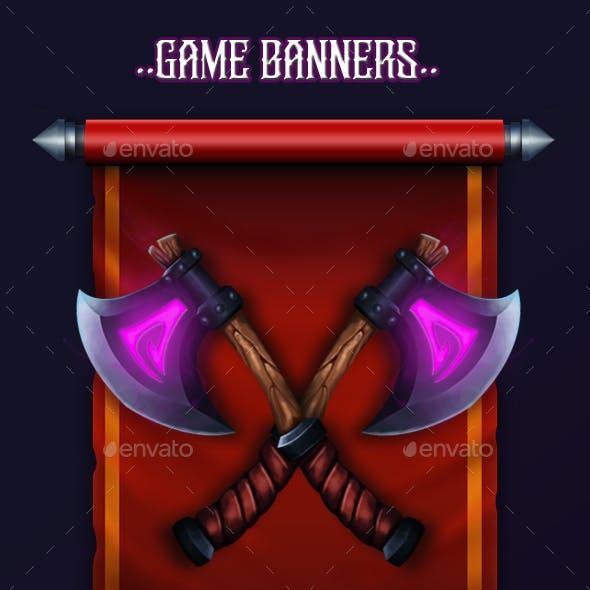 Fantasy Game Banners