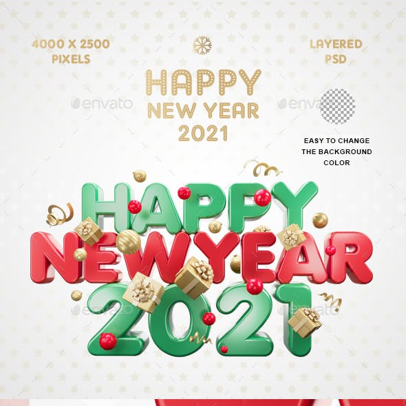 Happy New Year 2021 Vol.2
