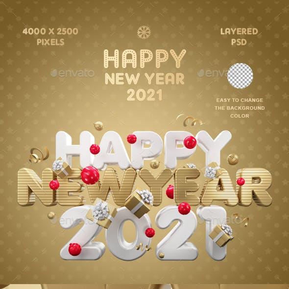 Happy New Year 2021 Vol.3