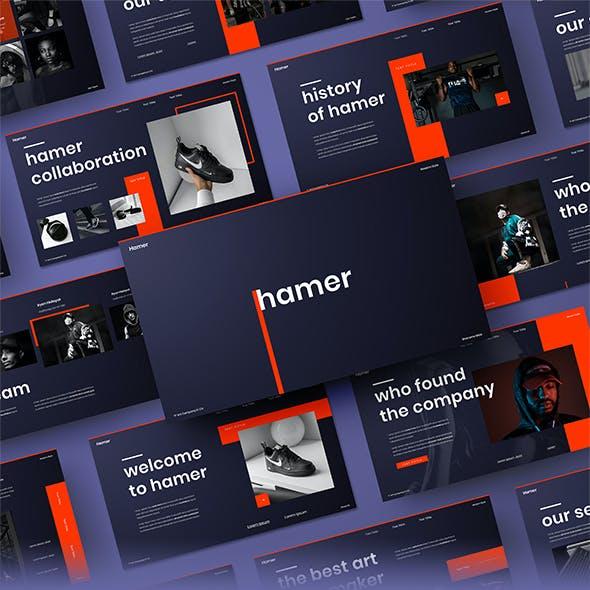 Hamer - Business Google Slides Template