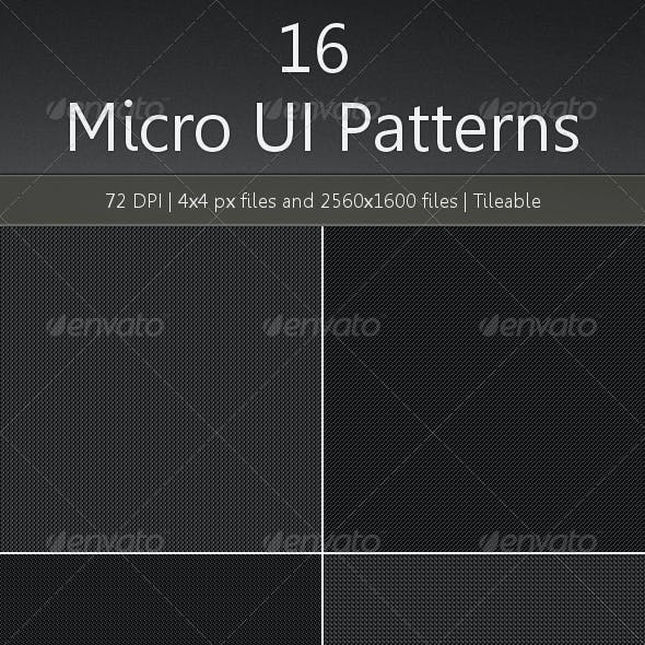 16 Micro UI Patterns