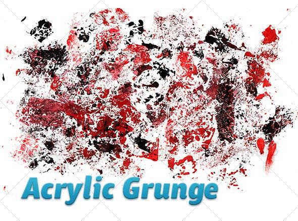 Acrylics grunge - Urban Backgrounds