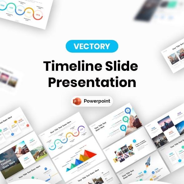 Timeline Slide Powerpoint Presentation Template
