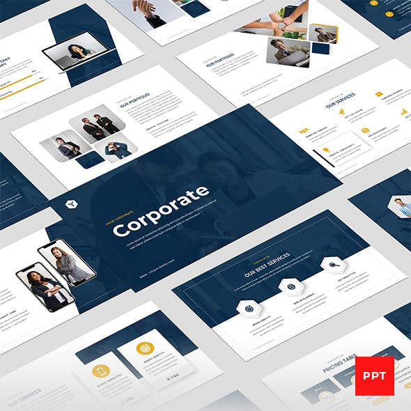 Corporate Business Multipurpose PowerPoint Presentation Template