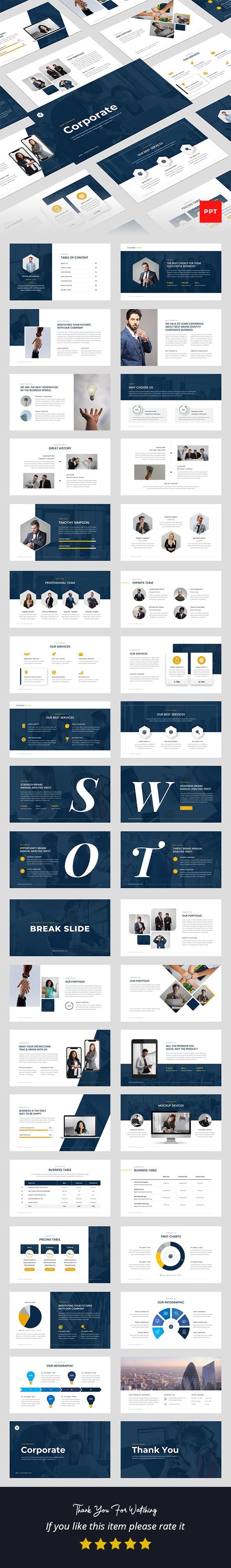 Corporate Business Multipurpose PowerPoint Presentation Template
