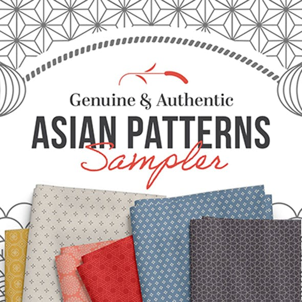 80+ Seamless Authentic Asian Patterns
