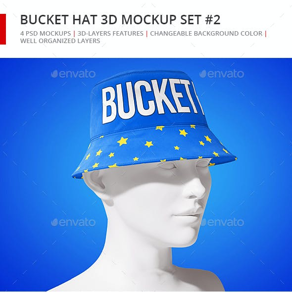 Bucket Hat Mockup 2