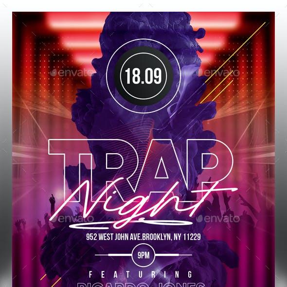Trap Club Flyer