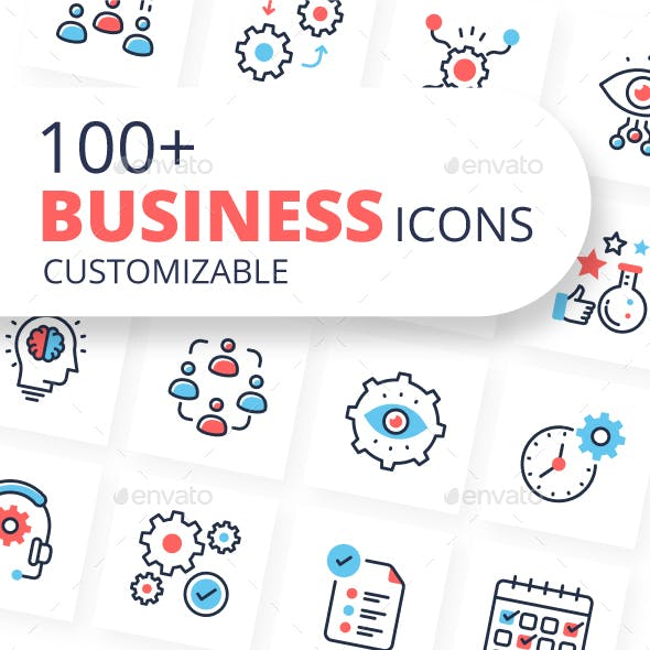 Business Icons - Vectors