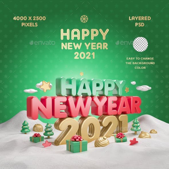 Happy New Year 2021 Vol.4
