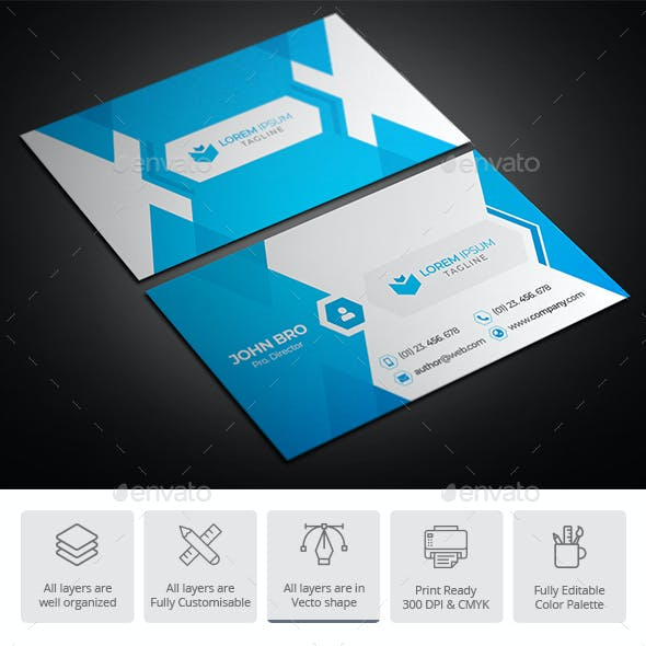 Creative Business Card Design 04