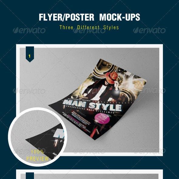 Poster/Flyer Mock-Ups