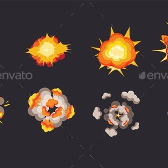 Explosion Animation in Storyboard