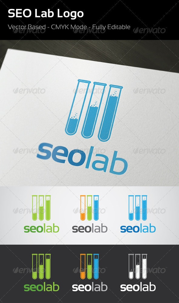 SEO Lab Logo Template - Objects Logo Templates