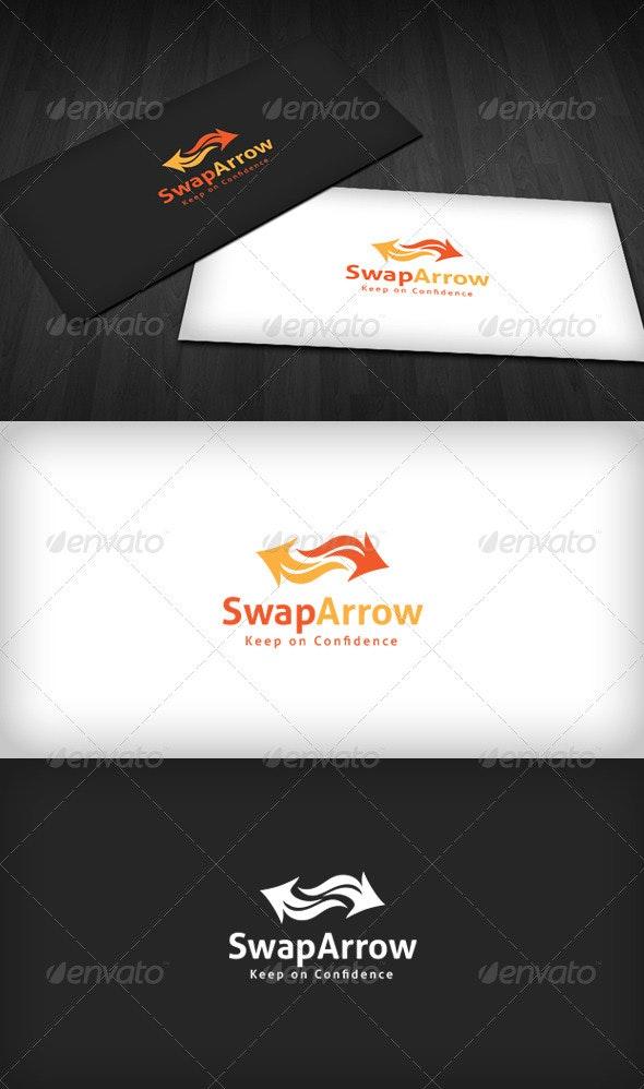Swap Arrow Logo - Vector Abstract
