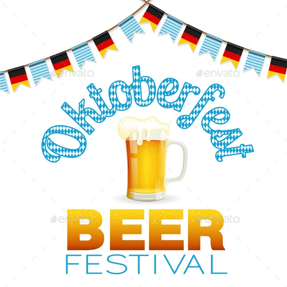 Oktoberfest Beer Festival Poster - Miscellaneous Seasons/Holidays