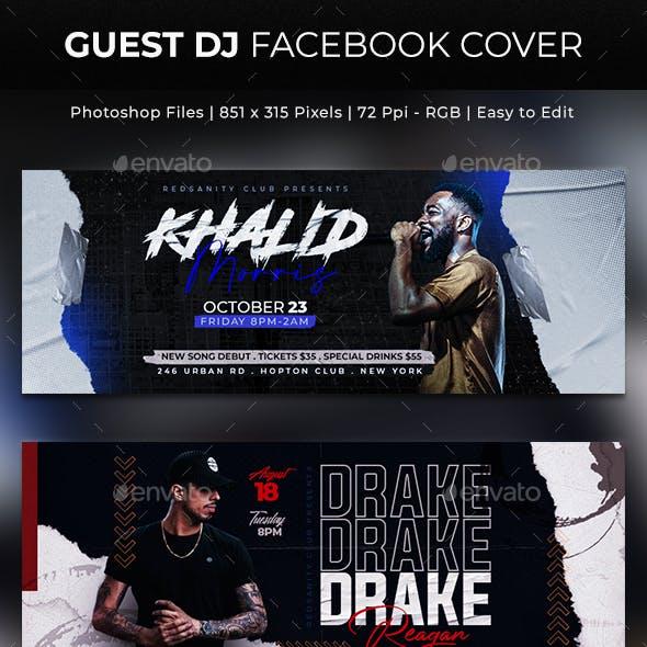 Guest DJ Facebook Cover