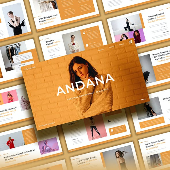 Andana – Fashion Powerpoint Template
