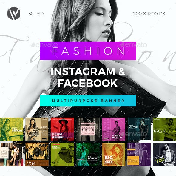 50 Fashion Instagram & Facebook Banners