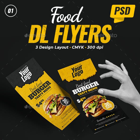 Food DL Flyers