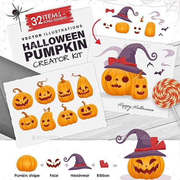 Halloween Pumpkin Creator Kit