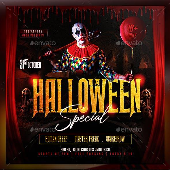 Halloween Special Flyer