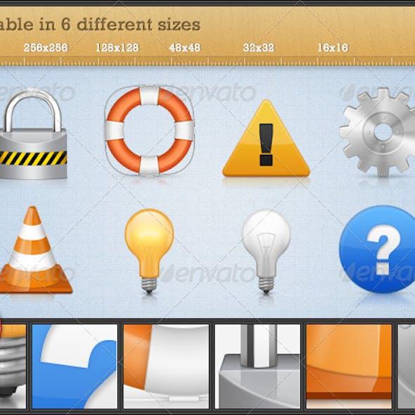 High Quality Premium Icons - Set 1