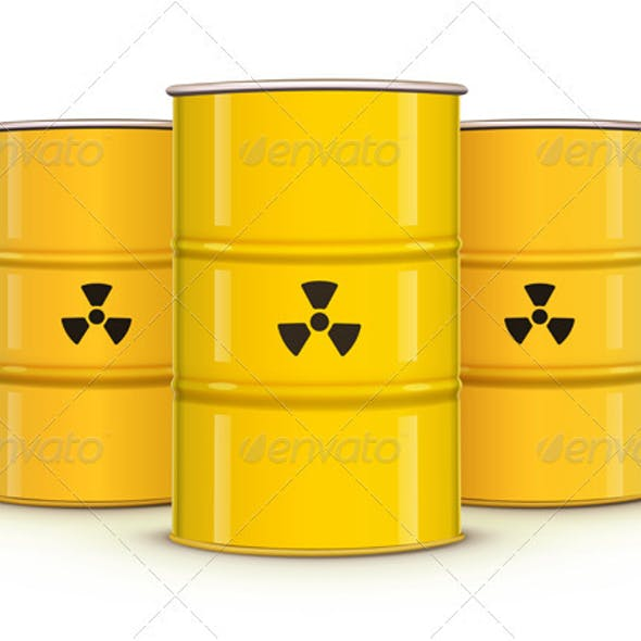 Yellow Metal Barrel