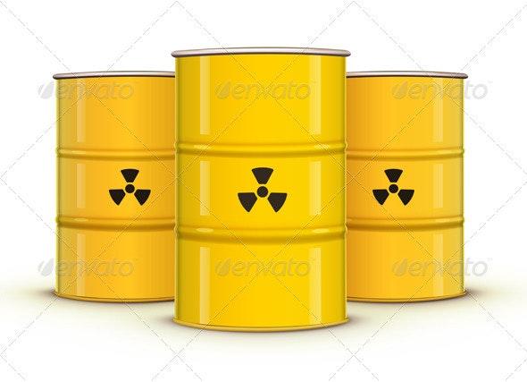 Yellow Metal Barrel - Industries Business