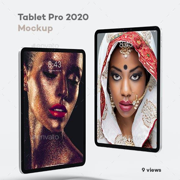 Tablet Pro 2020 Mock-up