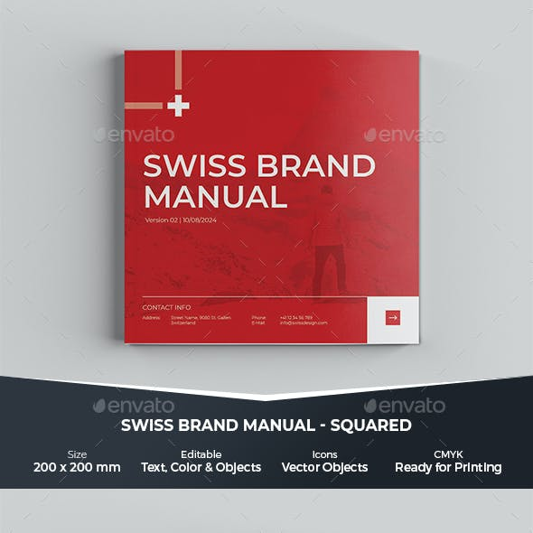 Brand Manual - Brand Guidelines - Squared