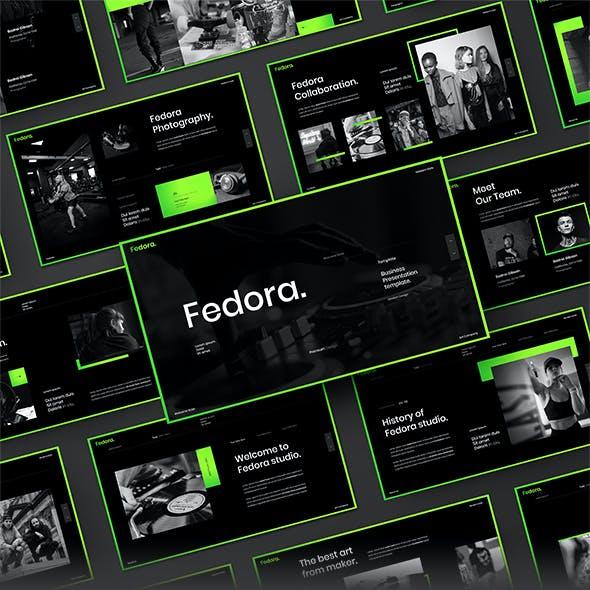 Fedora - Business Google Slides Template
